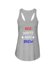 RED WHITE AND BREW T-Shirt Ladies Flowy Tank thumbnail