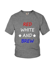 RED WHITE AND BREW T-Shirt Youth T-Shirt thumbnail