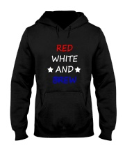 RED WHITE AND BREW T-Shirt Hooded Sweatshirt thumbnail