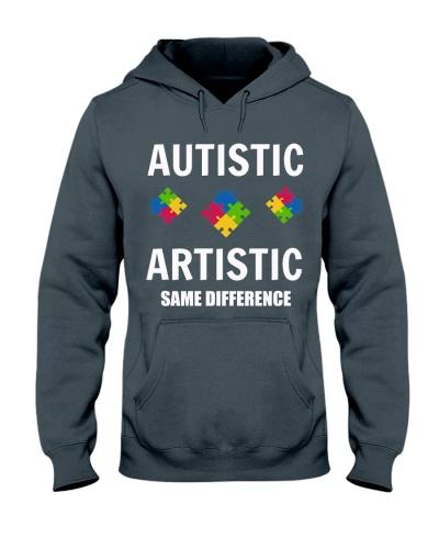 Autism Autistis Artistic Same Difference