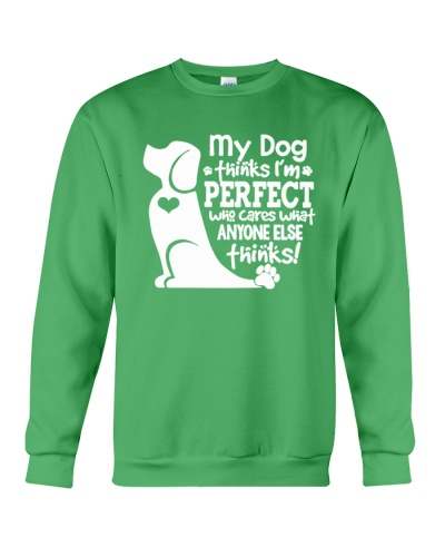 My Dog thinks I am perfect