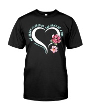My Heart Is Held By The Paws Of A Dog Classic T-Shirt thumbnail
