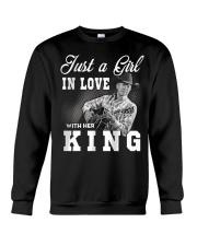 with my king tshirt Crewneck Sweatshirt thumbnail