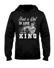 with my king tshirt Hooded Sweatshirt thumbnail