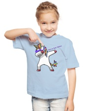 Dab on Dem Haters Youth T-Shirt lifestyle-youth-tshirt-front-2
