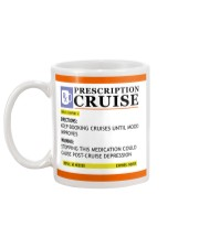 Prescription cruise Mug back