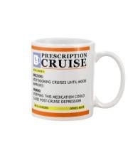 Prescription cruise keep booking cruises Mug front