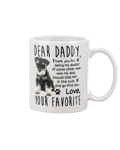 Dear daddy love your favorite
