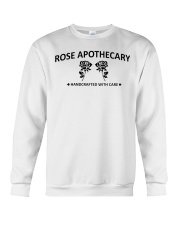 rose apothecary handcrafted with care rose  Crewneck Sweatshirt thumbnail