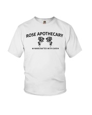 rose apothecary handcrafted with care rose  Youth T-Shirt thumbnail