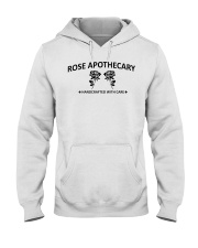 rose apothecary handcrafted with care rose  Hooded Sweatshirt thumbnail