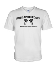 rose apothecary handcrafted with care rose  V-Neck T-Shirt thumbnail