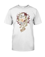 Steampunk scooter man Premium Fit Mens Tee thumbnail