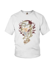 Steampunk scooter man Youth T-Shirt thumbnail