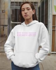 make heaven crowded pink  Hooded Sweatshirt apparel-hooded-sweatshirt-lifestyle-08