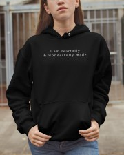 i am fearfully and wonderfully made Hooded Sweatshirt apparel-hooded-sweatshirt-lifestyle-07