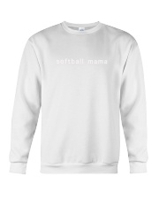 softball mama Crewneck Sweatshirt tile