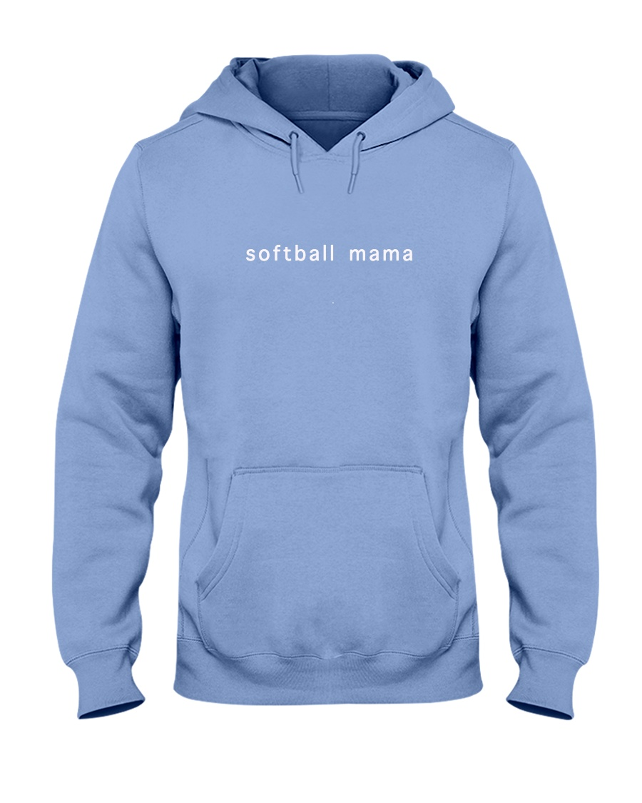 softball mama Hooded Sweatshirt