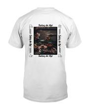 salon de thé Classic T-Shirt back
