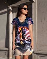 Trump on Tank 2020 All-over Dress aos-dress-front-lifestyle-1