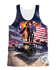 Trump on Tank 2020 All-over Unisex Tank thumbnail