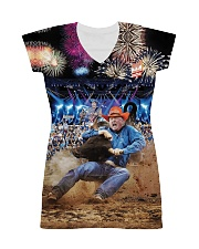 Trump Rodeo - Ted Nugent All-over Dress thumbnail