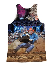 Trump Rodeo - Ted Nugent All-over Unisex Tank back