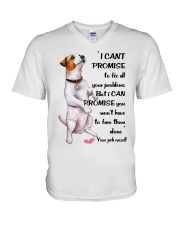 Limited Edition - JACK RUSSELL V-Neck T-Shirt thumbnail