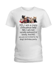 Limited Edition - CHIHUAHUA Ladies T-Shirt thumbnail