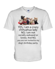 Limited Edition - CHIHUAHUA V-Neck T-Shirt thumbnail
