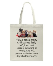 Limited Edition - CHIHUAHUA Tote Bag thumbnail