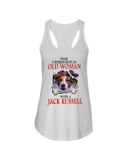 Limited Edition - JACK RUSSELL Ladies Flowy Tank thumbnail