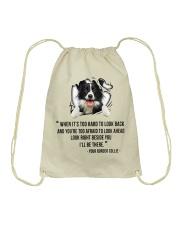 Limited Edition - BORDER COLLIE Drawstring Bag thumbnail