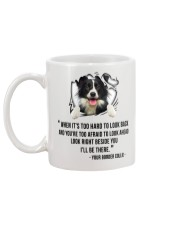 Limited Edition - BORDER COLLIE Mug back