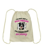 Limited Edition - BORDER COLLIE Drawstring Bag tile