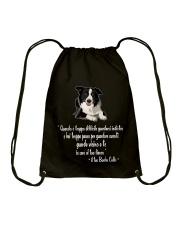 Edizione Limitata - BORDER COLLIE Drawstring Bag thumbnail