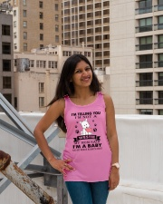 Limited Edition - WESTIE Ladies Flowy Tank lifestyle-bellaflowy-tank-front-3