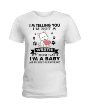 Limited Edition - WESTIE Ladies T-Shirt thumbnail