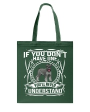 Limited Edition - SCHNAUZER Tote Bag thumbnail