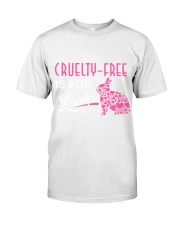 CrueltyFree is For Lovers  Classic T-Shirt thumbnail