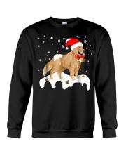 Funny Golden Retriever Merry Christmas T Shirt Crewneck Sweatshirt thumbnail