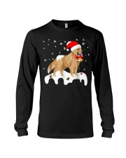 Funny Golden Retriever Merry Christmas T Shirt Long Sleeve Tee thumbnail