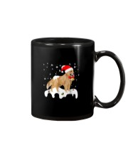 Funny Golden Retriever Merry Christmas T Shirt Mug thumbnail