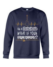 Metalhead Superpower Crewneck Sweatshirt front