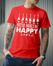Guitar Makes Me Happy Classic T-Shirt lifestyle-mens-crewneck-front-6