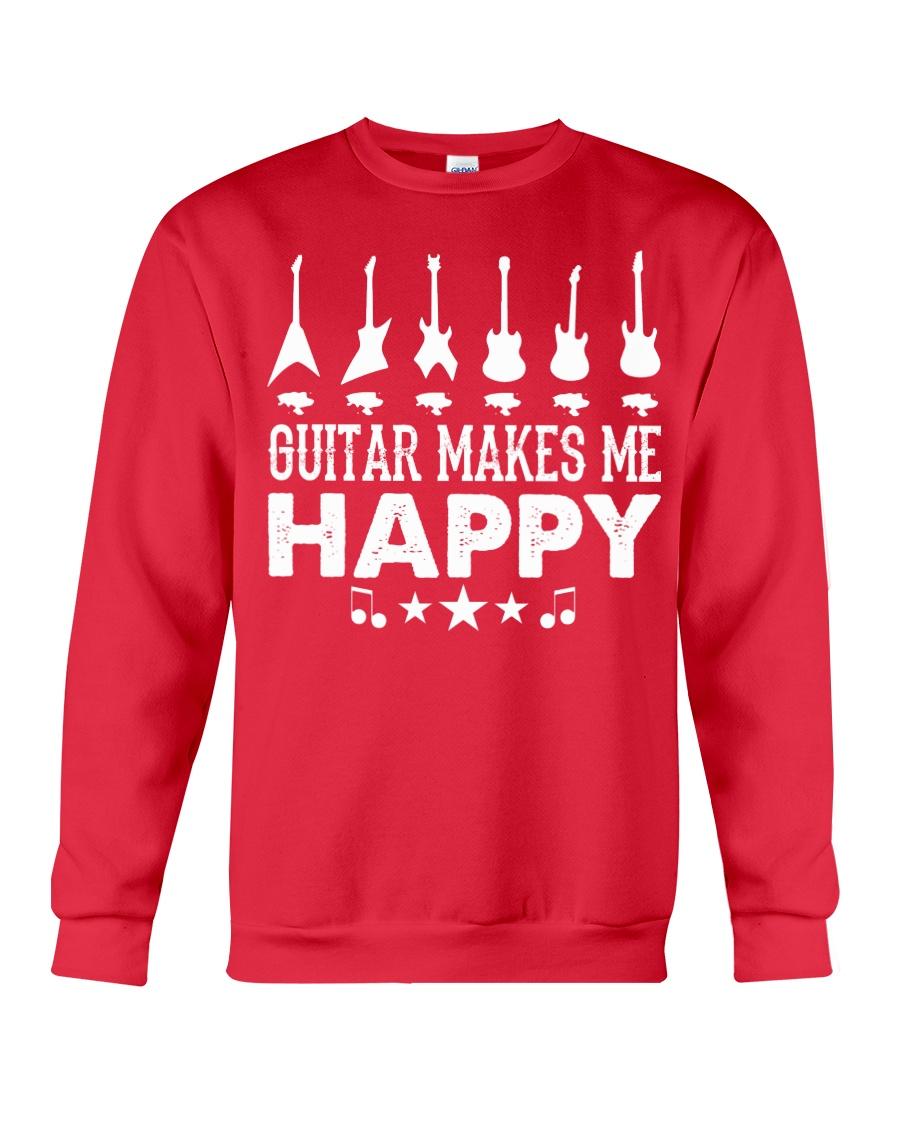 Guitar Makes Me Happy Crewneck Sweatshirt