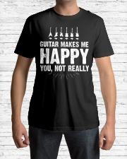 Guitar Makes Me Happy 2 Classic T-Shirt lifestyle-mens-crewneck-front-1