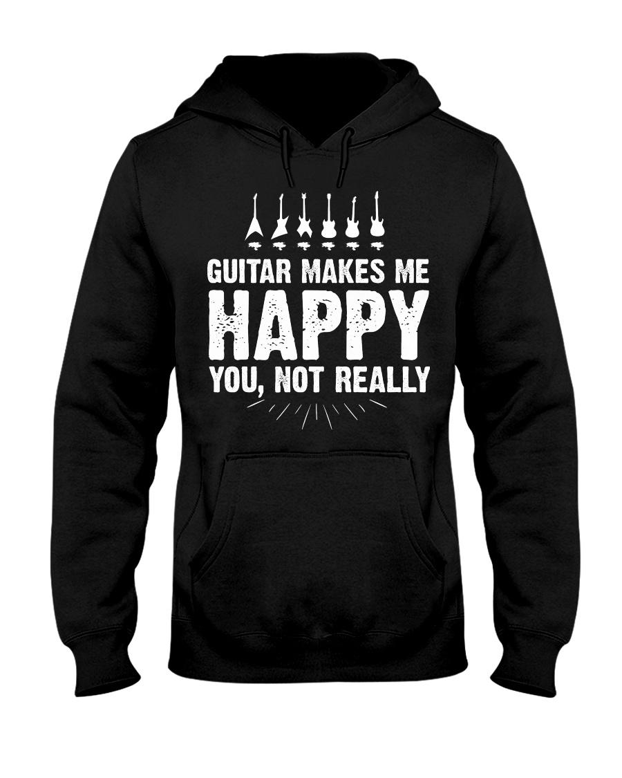 Guitar Makes Me Happy 2 Hooded Sweatshirt