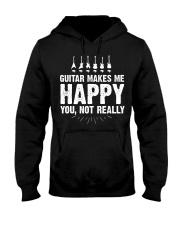 Guitar Makes Me Happy 2 Hooded Sweatshirt front