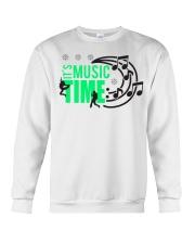 Its Music Time Crewneck Sweatshirt thumbnail